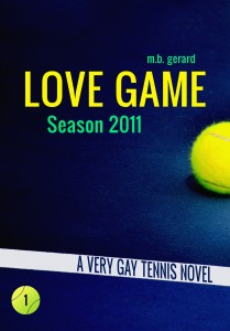 Lesbian romance books from the 'Love Game' series.